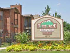 Dakota Ridge Apartments Sign