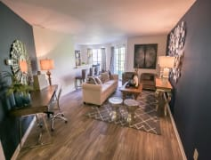 Open living rooms