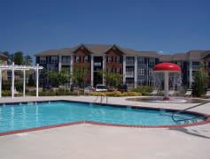 Resort-style Pool with Mushroom Water Fall