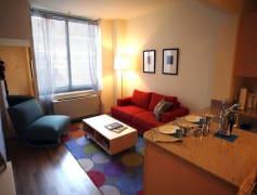 Studio Apartment Kitchen/Living Room