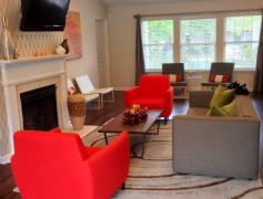Hawk Ridge Apartments in Winston Salem, NC Clubhouse Lounge