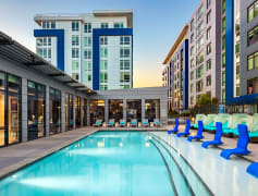 Lounge on the outdoor sundeck or go for a swim in the saltwater swimming pool