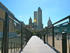 Great Views of Downtown Tulsa while You Relax on the Rooftop Deck