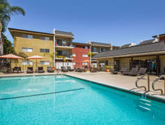 Swim in our outdoor saltwater pool