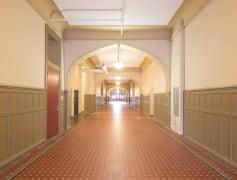 5th Ave historic renovated hallways