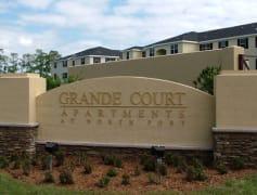 Grande Court at North Port Sign
