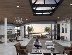 Slat Lake City Utah Hardware Apartments clubhouse
