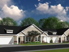 River Oaks features open concept, single level, 2 bedroom, 2 bathroom cottage apartments