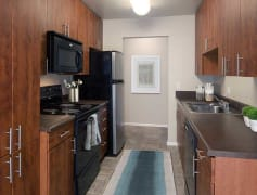 Upgraded Apartment - Kitchen