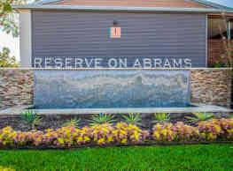 Reserve on Abrams - Dallas
