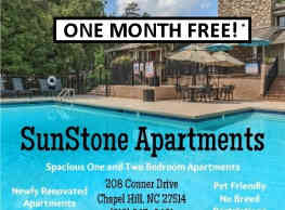 SunStone Apartments - Chapel Hill