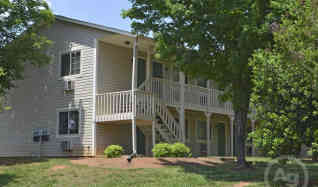 This is the Oakwood Apartments