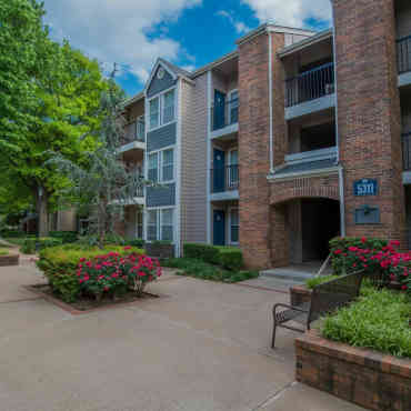 Waterford Apartments Tulsa Exterior View Of The Apartments At ...
