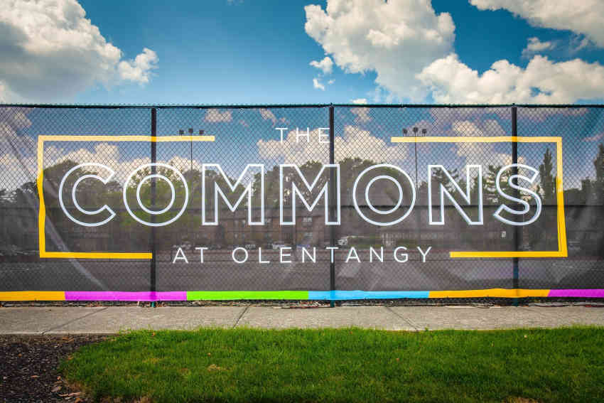 This is an image of the sign at The Commons