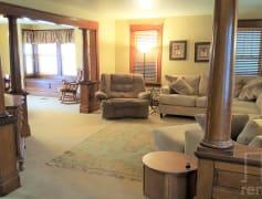 Grand liviing room & dining room