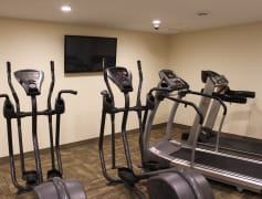 Gear Up for a Good Workout at the On-Site Fitness Center