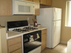 Spacious kitchens