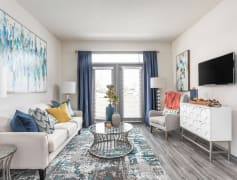 Spacious Living Room with Hardwood Floors - Brunswick Point
