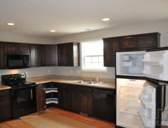 Large open kitchen with all new appliances