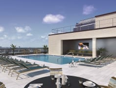 Tallest rooftop pool in Kansas City