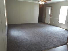 Large living room w/ new carpets