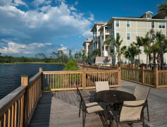 Enjoy Our Large Fishing Pond and Observation Deck