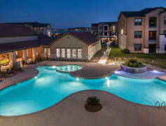A Serene Pool in a Peaceful Community