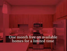 One month on available homes for a limited time!