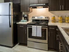 Brand new kitchens with stainless steel appliance packages