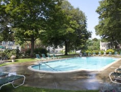Beverly Commons' Beautiful Swimming Pool and Sundeck