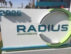 Radius Sign