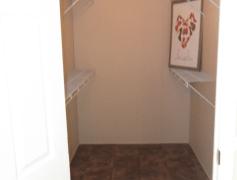 Large walk in closet