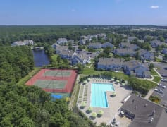 Aerial View of Community and Amenities