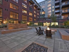 Main Level Courtyard in Summer