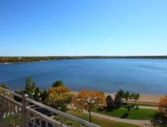 Select homes feature lake views