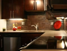 Luxury floorplan kitchen