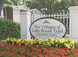 The Villages of Lake Boone Trail - Raleigh
