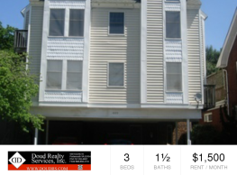 Gorgeous 3 BR available in Ghent - Norfolk