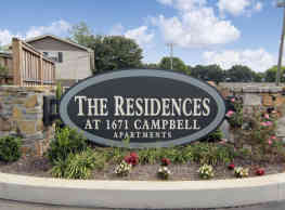 The Residences at 1671 Campbell - Clarksville