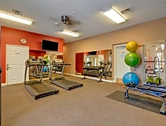 St. James Place Fitness Center with Cardio Equipment and Weights