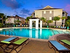 Our resort-style pool with expansive sundeck is a great place to escape the heat.