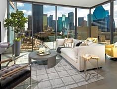Floor to ceiling Windows in Living Rooms