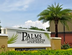 The Palms of Clearwater Sign