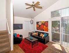 Interior-4 Bedroom Living Room