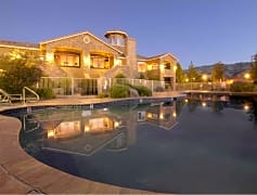 Year round pool and spa