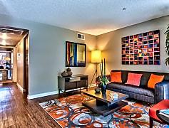 Living Room, Desert Flower Apartments, 0