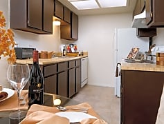 Kitchen, Mosaic Apartments, 0