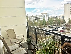 Balcony from a 2 BR Apartment