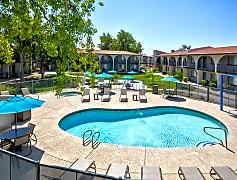 Pool, Fiesta Village Furnished Apartments, 0