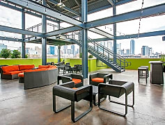 Panoramic Views of the Entire Dallas Skyline from the 2-story Rooftop Theater/Lounge!